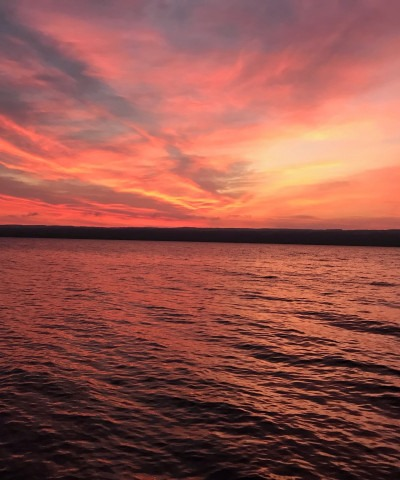 seneca lake sunrises